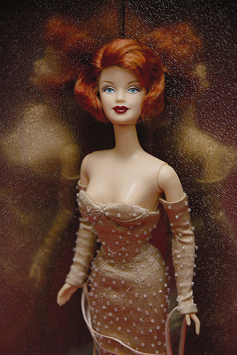 Barbie mattel design par Jean-Paul Gaultier - photo mona awad
