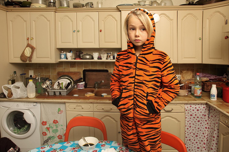 Elliot Baby love en tigrou