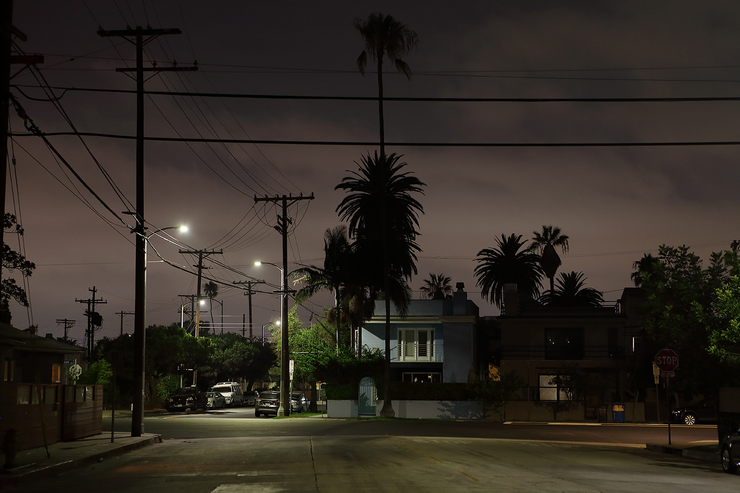 Night in Venice neighborhood photo mona awad