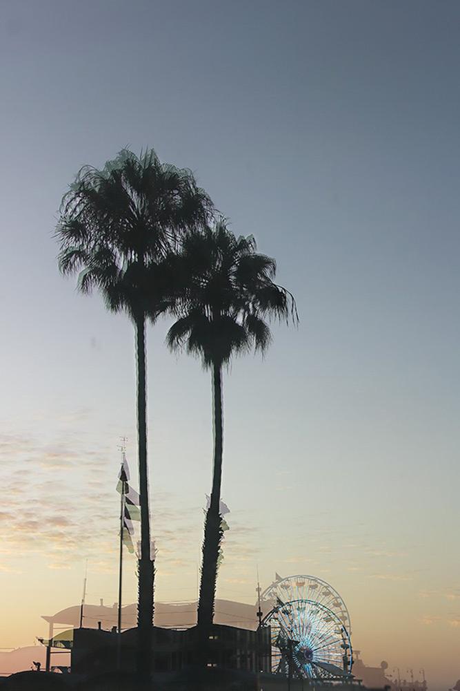 Santa Monica Los Angeles - Mona Awad artiste photographe