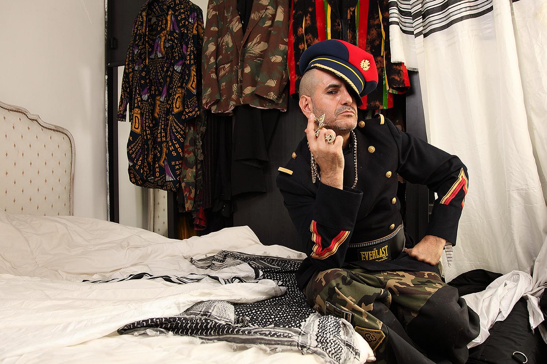 Claude King Sabbah , serie artiste designer dj photo Mona Awad